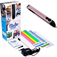 Профессиональная 3D-ручка 3Doodler Create, розовый металлик (3DOOD-CRE-ROSE-EU)