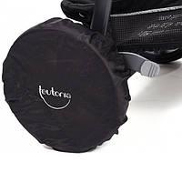Комплект защитных чехлов на колеса коляски черный (F60151409999900)