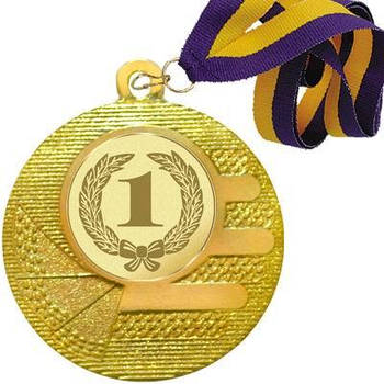 Медаль в сборе 50 мм. (Д119)