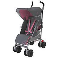 Прогулочная коляска Maclaren Techno XT New Charcoal/Primrose серый с розовым (WM1Y070112)
