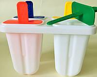 Формы для изготовления мороженого и фруктового льда.