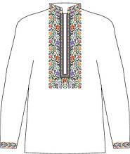 ЧСВП-37. Заготовка Чоловіча сорочка домоткана