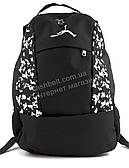 Мужской прочный вместительный спортивный рюкзак Джордан art. 701 Украина (101727) черный
