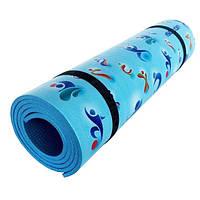 Туристический коврик Izolon Decor Олимпик 180x60x0.8 см каремат