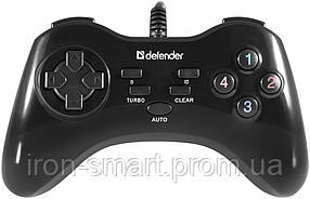 Геймпад Defender Game Master G2 (6115585) Black, USB, PC, 13 кнопок