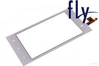 Touchscreen (сенсорный экран) для FLY IQ4418 ERA Style 4, белый, оригинал