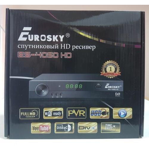 Спутниковый тюнер ресивер Eurosky ES-4050 HD