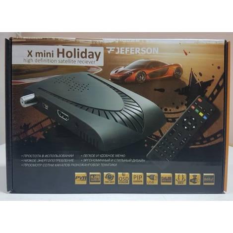 Спутниковый тюнер ресивер Mpeg4 Jeferson X mini