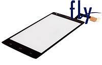 Touchscreen (сенсорный экран) для FLY iQ4505 Quad ERA Life 7, черный, оригинал