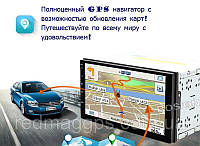 Магнитола 2din Pioneer Pi-707 GPS Android 6.0 + WiFi + 4Ядра +16 гб