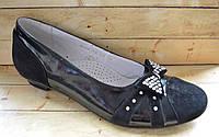 Замшевые туфли  для девочек размер 36