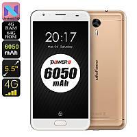 """Смартфон UleFone Power 2 gold золото (2SIM) 5,5"""" 4/64GB 13/16Мп 3G 4G оригинал Гарантия!"""