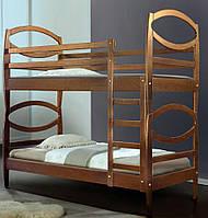 Двухъярусная кровать Виктория, 2-х ярусная кровать, яблоня