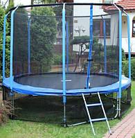 Батут 14FT + сетка + лестница 427 см