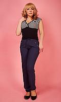 Летние женские брюки большого размера