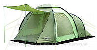 Кемпинговая двухслойная палатка, Палатка 4-местная King Camp Roma 4 KT 3069