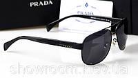 Солнцезащитные очки Prada (SPR 52) черная оправа