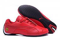 Фирменные кроссовки  Puma Ferrari Low All Red M