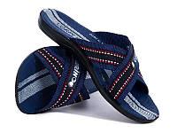 Мужские текстильные шлепанцы р 40-45