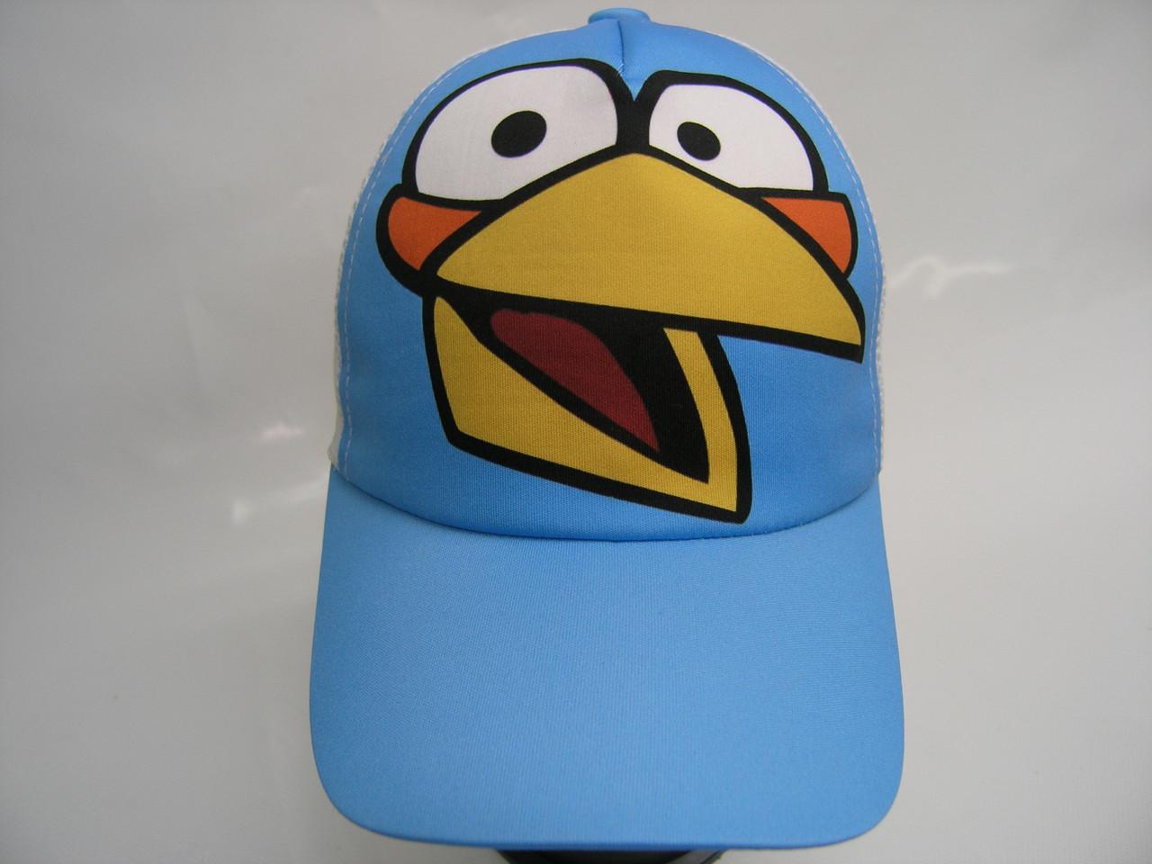 Кепка сетка - птица голубая