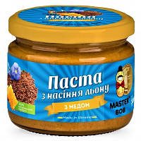 Паста из семян льна с мёдом Master BOB 200 грамм