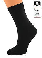 Носки женские разноцветные хлопок черные Ж-900010