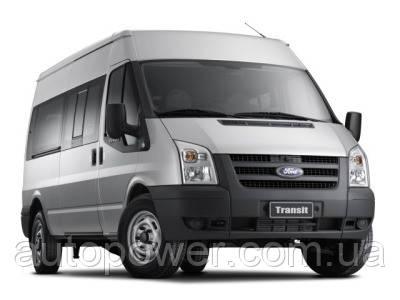 Фаркоп на Ford Transit (с подножк.) 2000-2014 (цельнолитой буксировочный крюк)