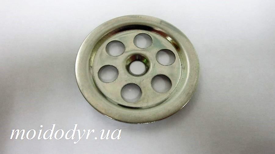 Сеточка круглая на перелив для кухонной мойки (40 мм)