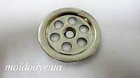 Сеточка круглая на перелив для кухонной мойки (40 мм), фото 1
