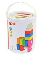 Конструктор goki деревянный Строительные блоки 58589