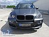Губа юбка обвес на бампер BMW X5 E70 дорестайл стиль Performance (пластик), фото 9