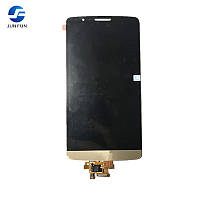 LCD LG D855/D858/D859 Optimus G3 with frame +touchscreen gold orig