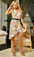 Нарядное женское платье модного фасона