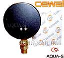 Термоманометр для отопления CEWAL 4 бара 120 °C (D 80 мм.) вертикальный (Италия), фото 2