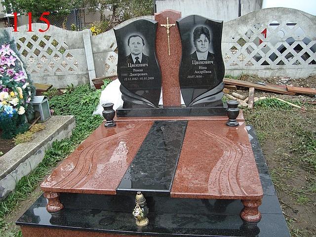 Купить двойной памятник Эконом памятник Плечики Ярцево