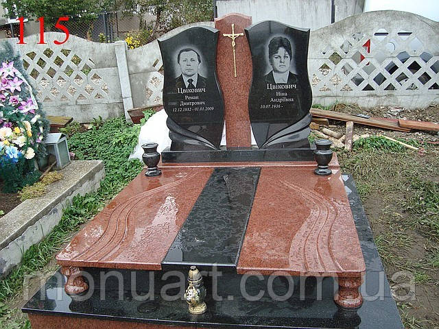 Заказать памятники гранитные двойные форма для памятников купить тольятти