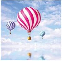 Салфетка Luxy воздушные шары