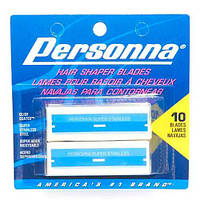 Personna Shaper Blades Twin Pack for Dovo Shavette Green Holder Двусторонние лезвия 10 шт