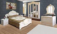 Спальня 4Д «Империя» Роза (лак) Світ Меблів