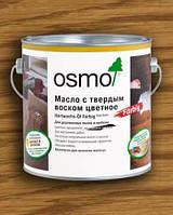 Масло-воск Osmo, янтарь 2,5 л.