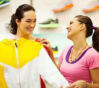 Женская одежда для спорта и отдыха.