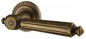 Ручка дверная на розетке Armadillo Matador античная бронза (Китай)