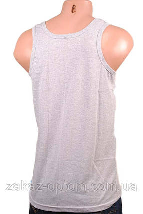 Майка мужская серая (MMB) XL, фото 2