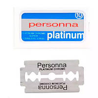 Red Personna Israeli Double Edge Razor Blades - UK Packaging Двусторонние лезвия 10 шт