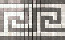 Marvel Grey/Moon Onyx Greca Mosaico 18.5x30