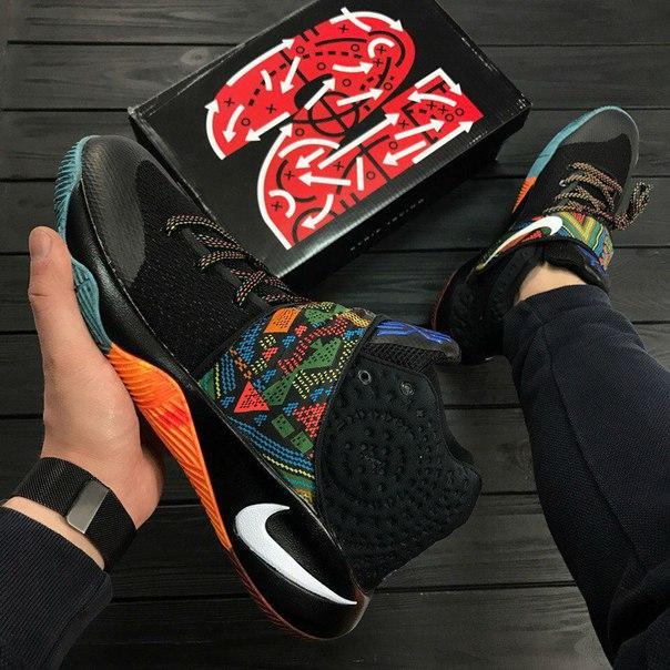 100% authentic 53d07 0ddb5 Кроссовки в стиле Nike Kyrie 2 BHM Black Indian мужские