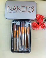 Кисти для макияжа NAKED 12 шт