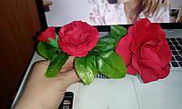 """Дизайнерский гребень в волосы """"Очарование Роз"""""""