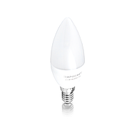Лампа светодиодная Евросвет C37 6W 3000K E14 170-240V