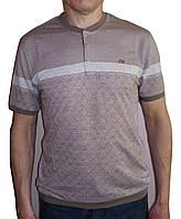 Бежевая футболка Caporicco Sportswear (Турция), фото 1